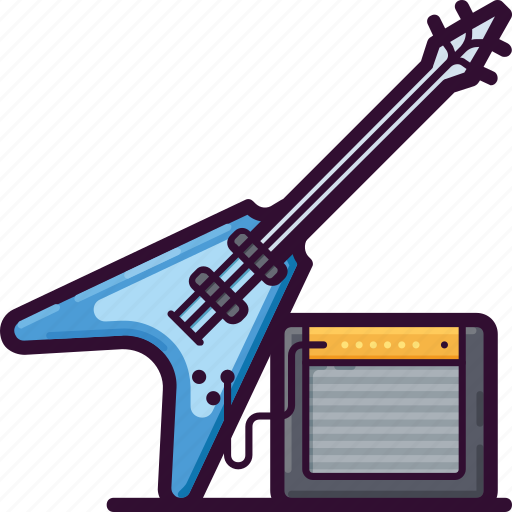 Guitar, instrument, music, song, sound icon - Download on Iconfinder