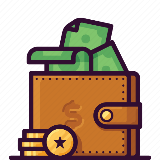 cash, coin, currency, finance, money, payment, wallet icon