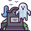 evil, ghost, grave, halloween, horror, scary, spooky icon