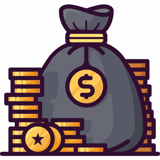 Bag, bank, coin, currency, finance, money, saving icon - Download on Iconfinder