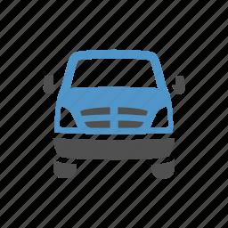 cargo van, delivery van, shipping, sprinter van, transport, van, vehicle icon