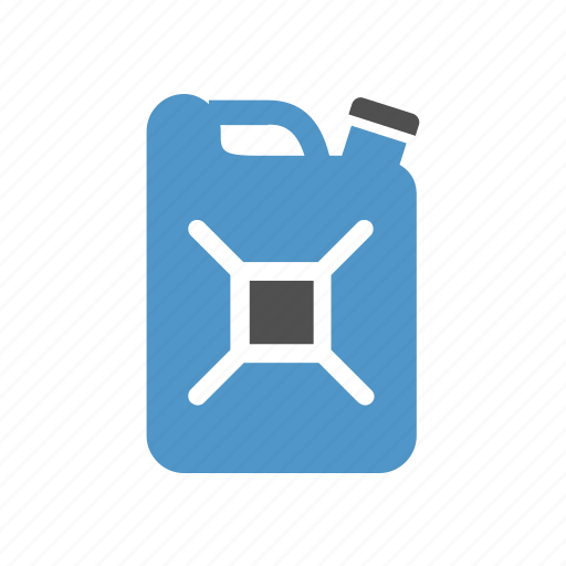 canister, diesel, fuel, gasoline, jerrycan, petrol, transport icon