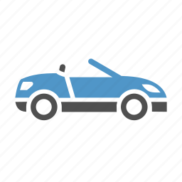 automobile, cabriolet, car, convertible, transport, vehicle icon