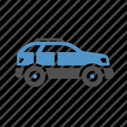 automobile, car, suv, transport, vehicle icon