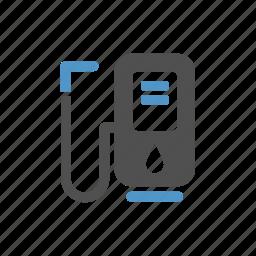 diesel, fuel, fueling station, gas filling, gas station, gasoline station, petrol icon