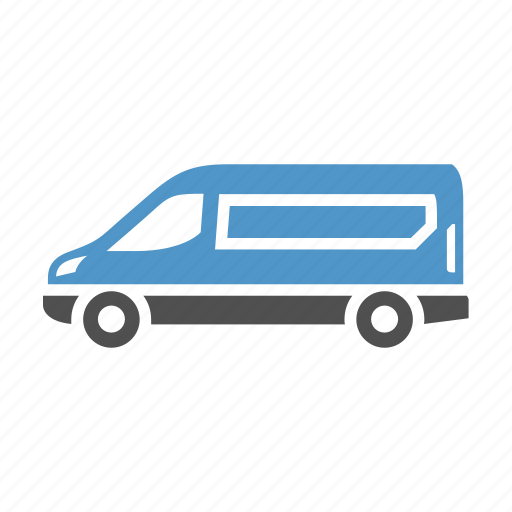 cargo van, delivery van, shipping, sprinter van, transport, van, vehicle icon