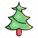 xmas, snow, winter, decoration, christmas, tree, santa