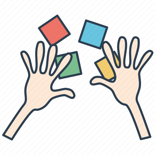 hands-on, practice, training icon