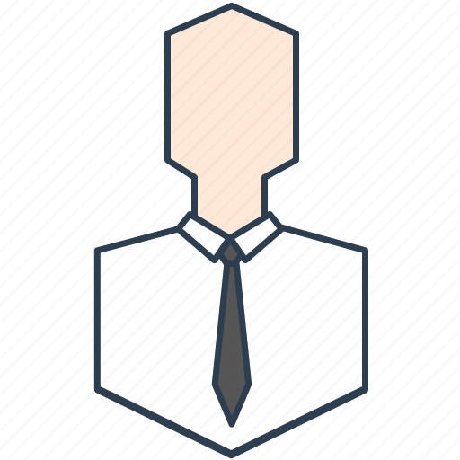 businessman, head, manager, person icon