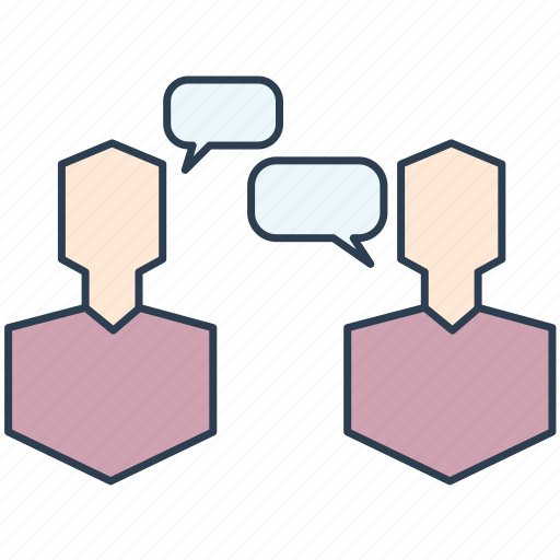 conversation, debate, dialogue, discussion, negotiation icon