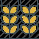 barley, beer, outline, yellow