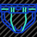 jockstrap, sports, protect, underclothes, sportswear icon