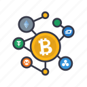 cryptocurrency, blockchain, bitcoin, currency, cash, banking