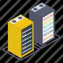 data center, data hosting, data server, data storage, dataserver rack, network