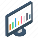 business graph, business growth, business infographic, business statistics, data analytics, online analytics icon