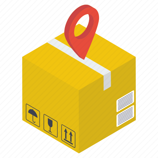 cargo tracking, delivery tracking, location tracking, parcel tracking, shipment tracking icon