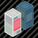 data hosting, data storage, datacenter, dataserver, dataserver network, dataserver rack icon