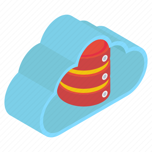 cloud computing, cloud server, cloud storage, cloud technology, data server icon