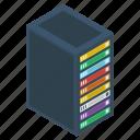 data hosting, data storage, datacenter, dataserver, dataserver rack icon