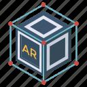 3d animation, 3d cad, 3d cube, 3d design, 3d model, 3d modeling icon
