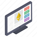 bitcoin box, cryptocurrency box, digital currency, ethereum moneybox, money savings icon