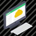 cloud computing, cloud hosting, cloud services, cloud storage, cloud technology icon