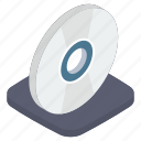 cd, compact disc, computer storage, disc, disc storage, electronic hardware icon