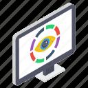 business infographic, business statistics, data analytics, web analytics, web monitoring icon