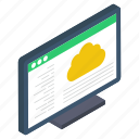 cloud computing, cloud network, cloud storage, cloud technology, web cloud network icon
