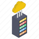 cloud computing, cloud hosting, cloud server, cloud storage, cloud technology icon