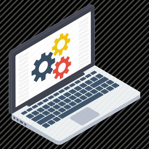 laptop configuration, laptop preferences, laptop repair, laptop setting, system setting icon