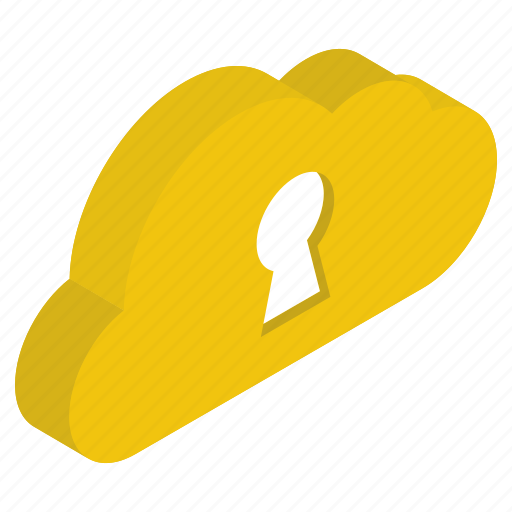 cloud access, cloud lock, cloud protection, cloud security, data security icon