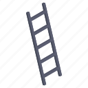 escalier, ladder, stair well, staircase, stairs, stairs up, stairway icon