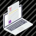online document, tax document, tax file, tax paper, tax report icon