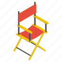 director chair, folding chair, furniture, outdoor furniture, studio chair