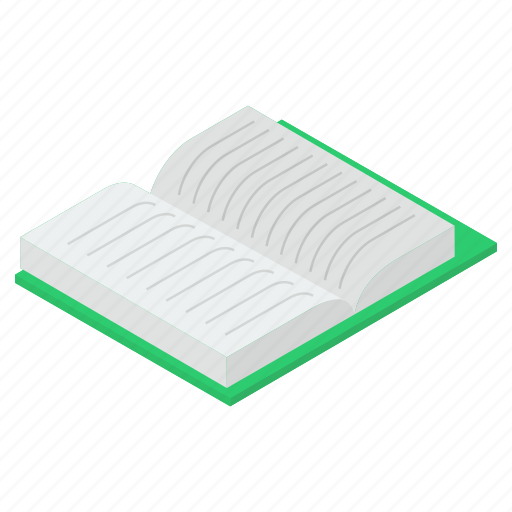 knowledge, novel, open book, rule book, textbook icon