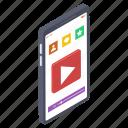 internet video, mobile video, online marketing, video marketing, viral video icon