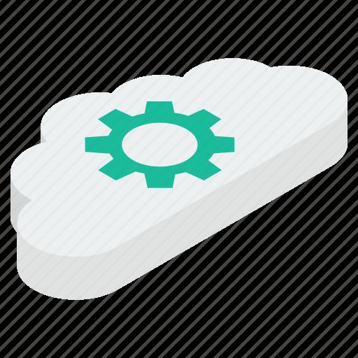 cloud computing, cloud configuration, cloud maintenance, cloud preferences, cloud setting icon
