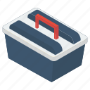 repair kit, service kit, toolbox, toolkit, toolset icon