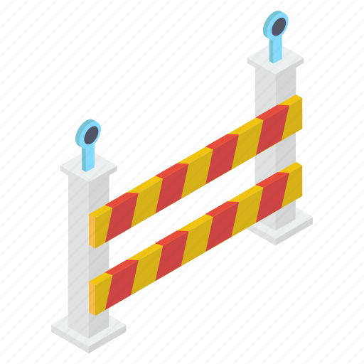 barricade, barrier, barrier sign, construction banner, restricted, road barrier, under construction icon