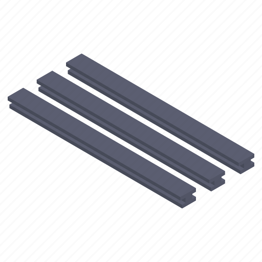 construction material, construction tools, iron bar, metal bar, steel bar icon