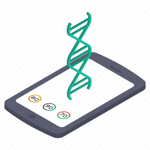 biology, biotechnology, dna, dna molecules, dna strand, genetics, heredity icon