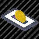 digital banking, ebanking, internet banking, mcommerce, online banking mobile banking icon