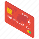atm card, bank card, credit card, debit card, payment card, smart card icon