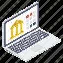 digital banking, ebanking, internet banking, mcommerce, online banking icon