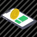 digital banking, ebanking, internet banking, mcommerce, mobile banking, online banking icon