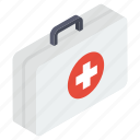emergency treatment, first aid, first aid box, first aid kit, medical kit icon
