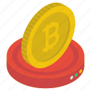 bitcoin, bitcoinchain, btc, coin, cryptocurrency, digital currency icon