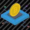 bitcoin business, bitcoin network, bitcoin technology, blockchain cryptocurrency, money technology icon