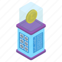 bitcoinchain, btc, coin box, cryptocurrency, digital currency, litecoin icon
